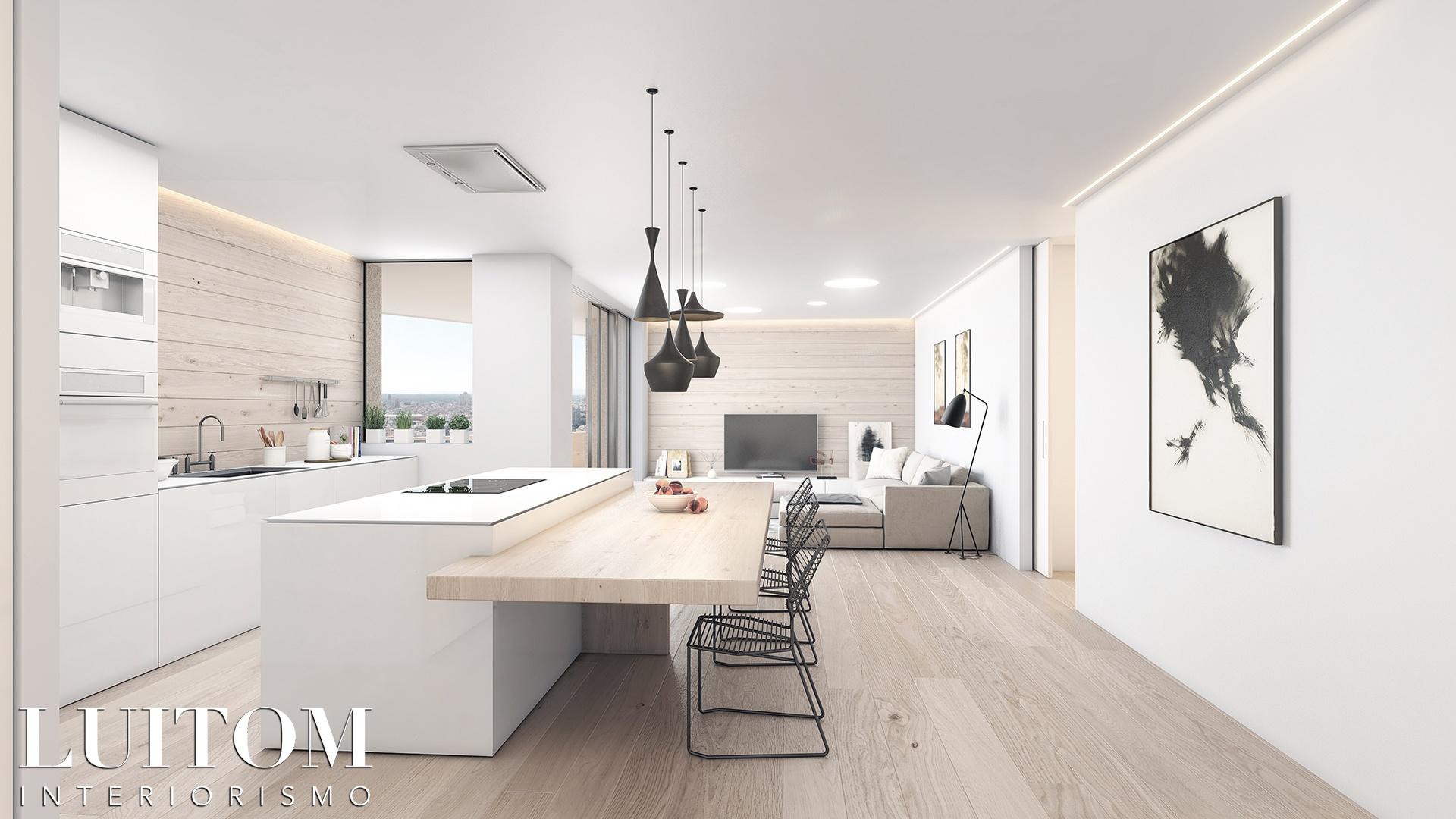 ideas-integrar-unir-cocina-salon-decoracion-cocinas-modernas-modern-kitchen-designs-05