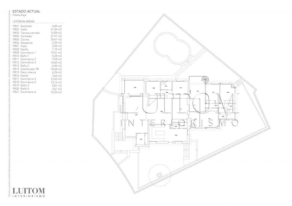 plano-estado-actual-reforma-integral-chalet-unifamiliar-arquitectos-madrid